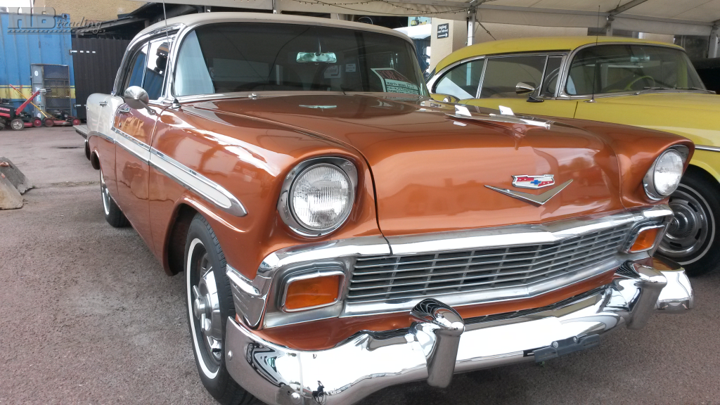 Chevrolet Bel air 4drht 1956